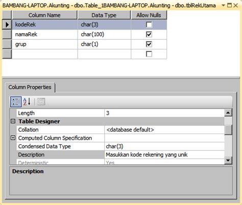 membuat database menggunakan sql management studio cara mudah membuat tabel di sql server management studio
