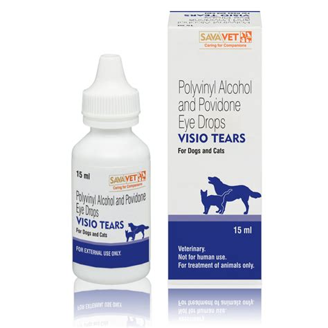 artificial tears for dogs visio tears for dogs and cats polyvinyl and povidone eye drops artificial tears