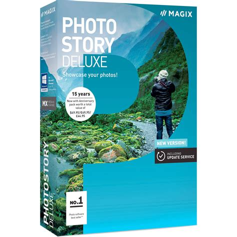 Software Photo Magix Photostory 2017 Deluxe magix entertainment photostory deluxe 2017 anr007783esdl2 b h