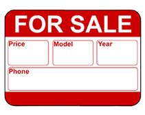 Car For Sale Sign Template by Free Printable Car For Sale Temporary Sign