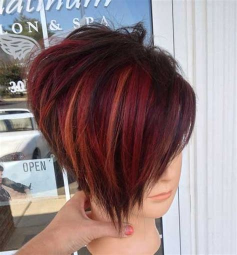 20 Short Hairstyle Color Ideas   Short Hairstyles 2016