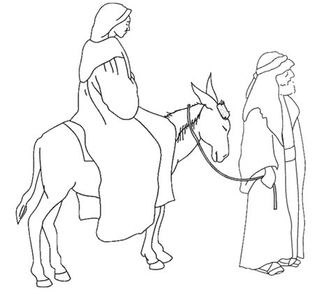 coloring pages mary and joseph bethlehem 1 advent and christmas become what you are