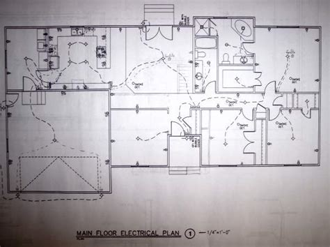residential circuit diagram electrical wiring information