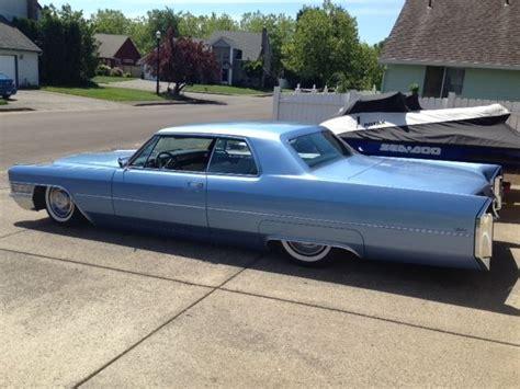bagged cadillac bagged 1965 cadillac calais 20 quot front 22 quot rear wheels