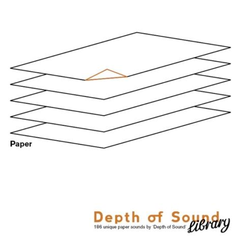 Paper Folding Sound Effect - paper by depth of sound paper sound effects library