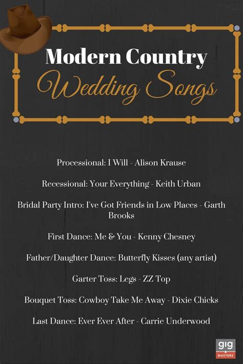 Wedding Song Country by 25 Best Ideas About Country Wedding Songs On