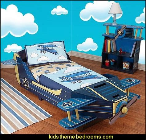 toddler airplane bed decorating theme bedrooms maries manor airplane theme