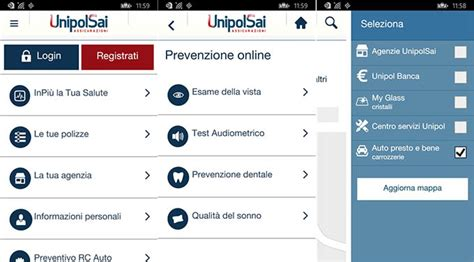 app unipol unipolsai assicurazioni l app ufficiale arriva su
