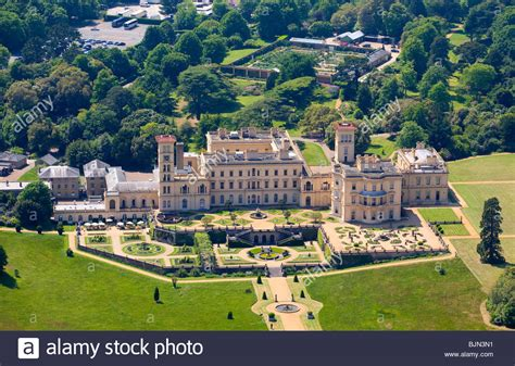 buy house isle of wight aerial osborne house east cowes isle of wight england stock photo royalty free
