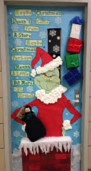 cristmas door decorating doors