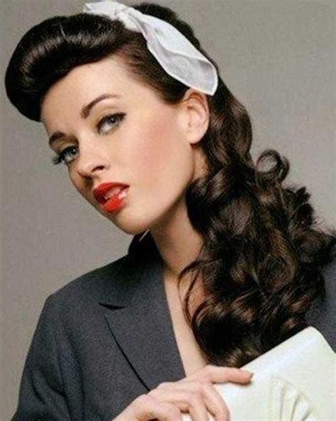 50 s hairstyles for hair pin up hairstyles