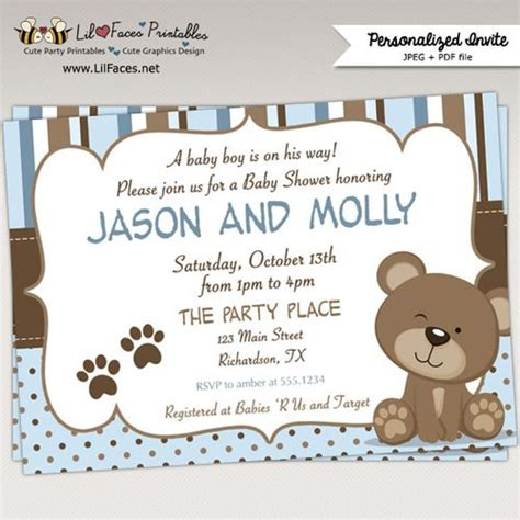 Baby Shower Bears by 17 Best Ideas About Baby Showers On