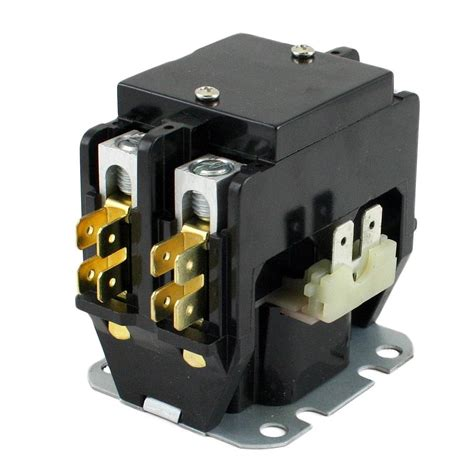 wg magnetic contactor  pole relay wiring schematic