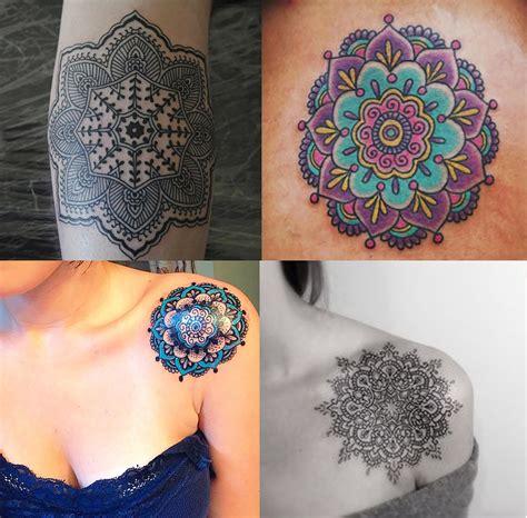 tattoo mandala colorida tatuagem mandala colorida pictures to pin on pinterest