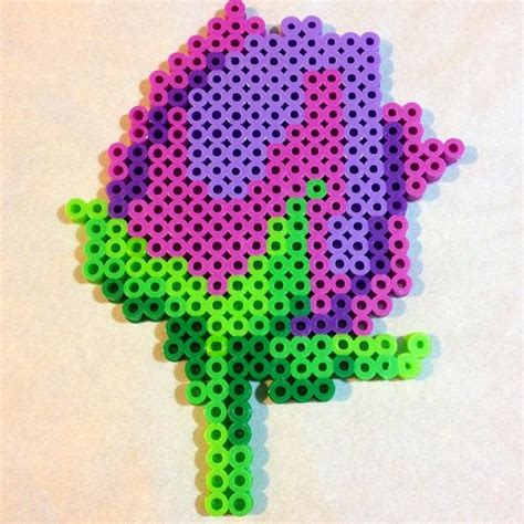 perler bead flower top 42 ideas about flower patterns on perler