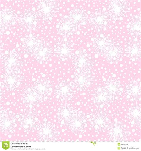 pattern pink soft vector seamless pattern with small furry flowers stock