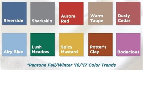 colors for 2016 fall color trends 2016 creative coverings