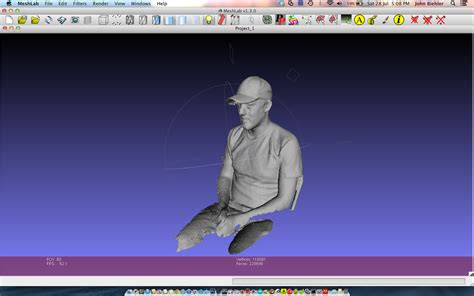 3d kinect 3d scanning with xbox kinect reconstructme johnbiehler