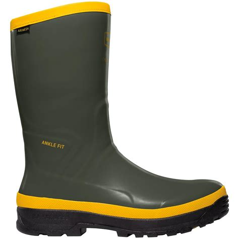 rubber boots s lacrosse 174 12 quot spog work boots olive green 284682