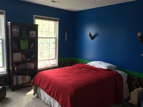 best bedroom in the world my son s new minecraft bedroom quot the best thing in the world quot minecrafty pinterest