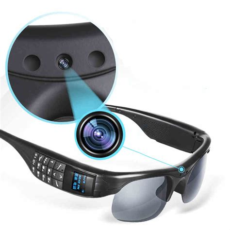 smart glasses bluetooth with headset calling - Camara Bluetooth