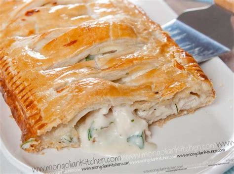 Chicken Pastry chicken pie recipe how to make a puff pastry