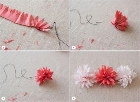 Handmade Fabric Flowers Tutorial - fabric flower tutorial matchbox kitchen
