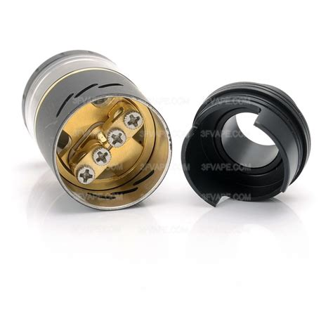Azeroth Rdta By Coil Ss Black Authentic authentic coilart azeroth rdta 4ml 24mm black rebuildable atomizer