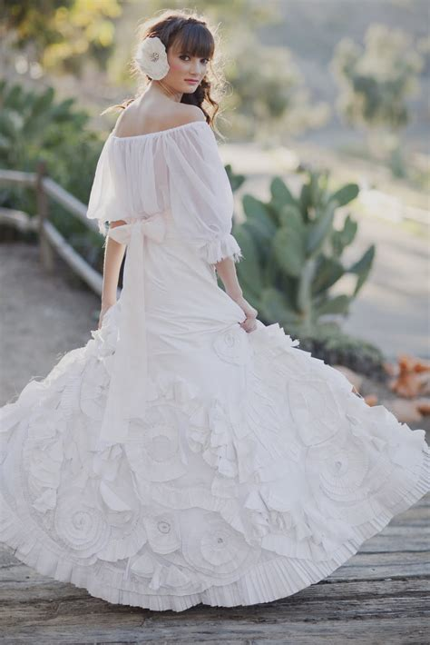 bridal fashion with mexican wedding inspiration papel picado and succulents heavenly