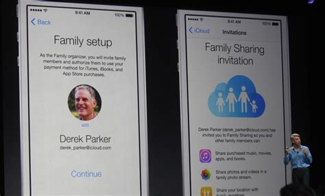 apple family sharing apple debuts ios family sharing buy apps once share them