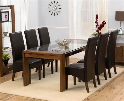rochelle walnut glass dining table oak furniture solutions