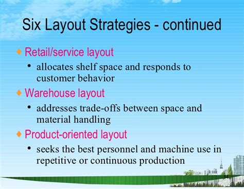 layout strategy importance layout strategy ppt bec doms