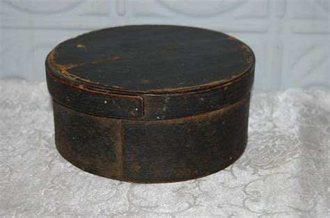 Antique Pantry Boxes by Antique Primitive Shaker Pantry Box With Cover Original