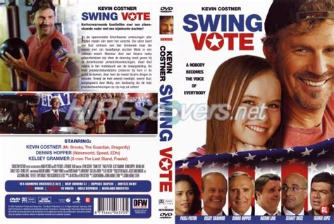 swing vote 2008 dvd cover custom dvd covers bluray label movie art dvd