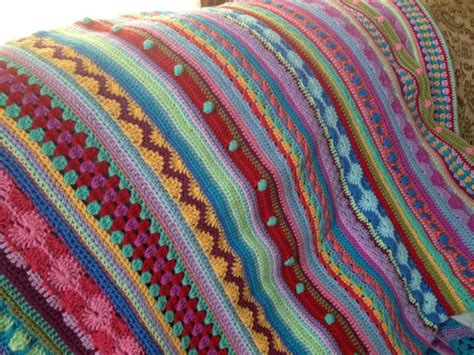 stripe patterns for knitting a mixed stitch stripes blanket with a free pattern as