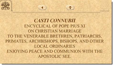 casti connubii on christian marriage pope pius xi 1930 casti connubii on christian marriage pope pius xi 1930