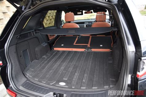 land rover discovery sport trunk land rover discovery sport sd4 hse luxury review video