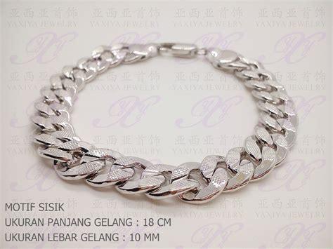 Kalung Rantai Silver jual yaxiya anting kalung cincin gelang rantai silver