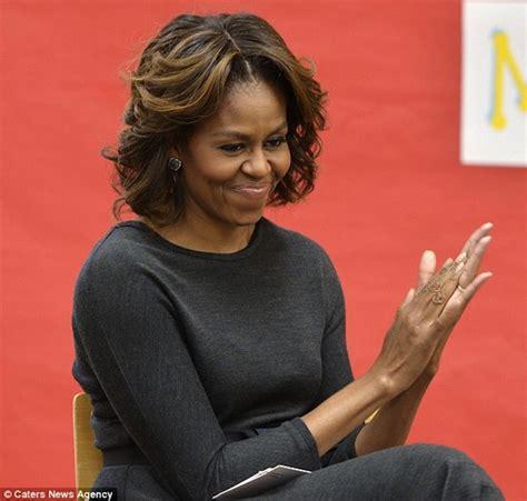 michelle obama hair loss michelle obama honey blonde highlights hype hair