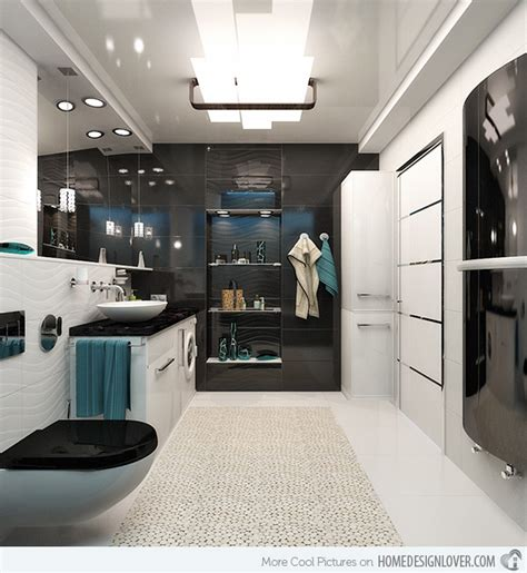modern black and white bathroom ideas 20 sleek ideas for modern black and white bathrooms