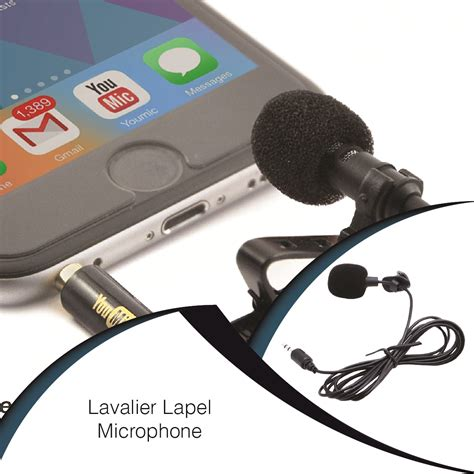 Microphone Clip On Audio System Rekording drop shipping professional grade microphone with easy clip on system best for recording