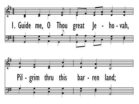 guide me o thou great redeemer wedding hymn guide me o thou great jehovah praise our songs and