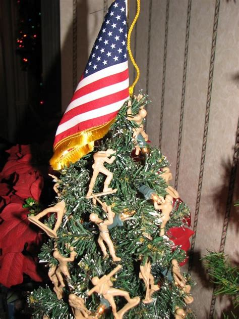 army christmas tree remembering those we love at