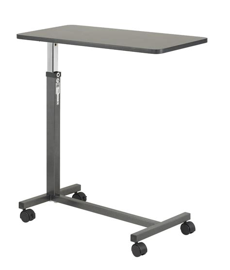 drive medical overbed table assembly getting laptop table for bed