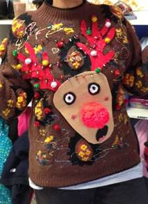 how to make a tacky sweater with lights 7 sweater ideas for the tackiest