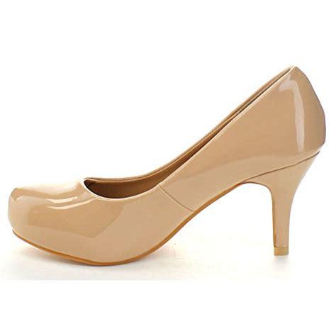 nude comfortable heels bella marie kylie 2 women s shiny comfort stiletto heel