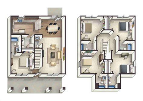 5 bedroom floor plans 2 5 bedroom floor plans eduvzn com
