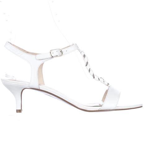 nine west braided sandals lyst nine west yocelin braided charm t dress