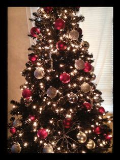 1000 images about black christmas tree on pinterest