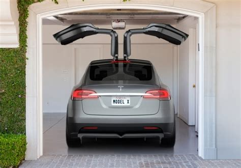 How To Open Tesla Doors 2014 Tesla Model X All Electric Crossover With Falcon